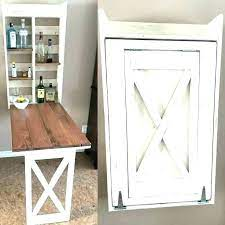 wall mounted craft table best fold down