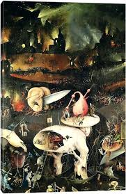 garden of earthly delights poster. Garden Of Earthly Delights Poster Detail Hell Top Half The Right Panel Y
