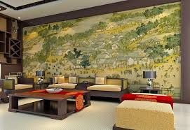 Chinese Wall Painting Ideas For Living Room
