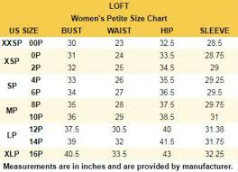 Loft Size Chart Details About Loft Outlet Floral Banded Bottom Tank Top