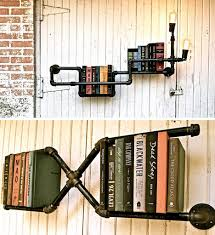 iron pipe shelving systems for urban loft walls corners