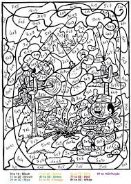 Color By Number Pages For Adults Free Coloring Pages On Art