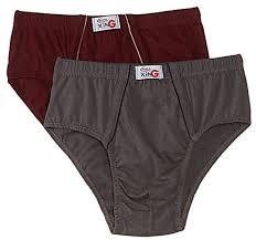 Rupa Frontline Mens Cotton Briefs Pack Of 2 Colors May Vary