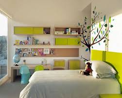 Kids Bedroom Colour Great Kids Bedroom Ideas With Lime And White Colour Decoration