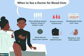 Light Periods Before Menopause What Blood Clots During Your Period Mean