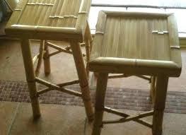 bamboo bar stools set of 2 bamboo bar ls kitchen dining at chairs furniture ideas bamboo bar stools outdoor