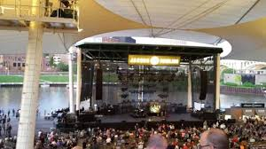 Jacobs Pavilion At Nautica Seating Chart The Stage View From My Seat Picture Of Jacobs Pavilion At