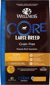 Wellness Core Grain Free Large Breed Puppy Deboned Chicken Recipe Dry Dog Food 24 Lb Bag