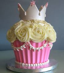 Big Cupcake Pictures Giant Cupcake Birthday Cake Decorating Ideas