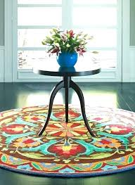 foot round rug area rugs 1 8 by ft 10 x turquoise 6 feet outdoor