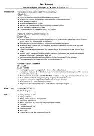 Superintendent Construction Resume Construction Superintendent Resume Construction Superintendent