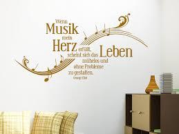 Wandtattoo Wenn Musik Mein Herz Erfüllt Wandtattoode