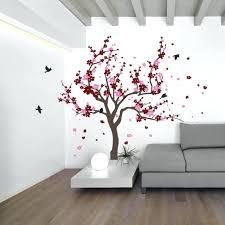 blossom tree wall decal cherry blossom tree and birds wall decal sticker  for cherry blossom tree