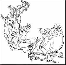 Remarkable Santa Claus And Reindeer Coloring Pages With Luxury Dlvvs