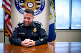 Chief Jay Parrish reflects on time with mentor Carol Martin, looks ahead -  Gainesville Times