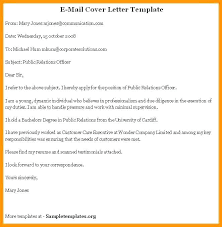 Email Cover Letter Subject Line Subject Line Cover Letter For Email Tips Resume With
