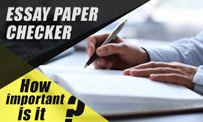"""high quality essay paper checker how important is it  """"errare humanum est"""" says the famous latin proverb this could be translated like """"to err is human"""" and one hardly have an argument against this"""