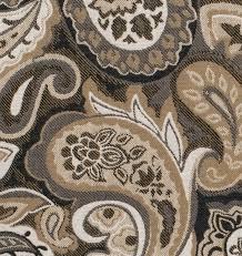 la belle charcoal kidney pillow fabric