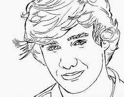 Anime One Direction Coloring Pages