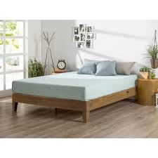 queen size low bed frame. Simple Frame Priage Deluxe Solid Wood Rustic Pine 12inch Platform Bed Throughout Queen Size Low Frame E