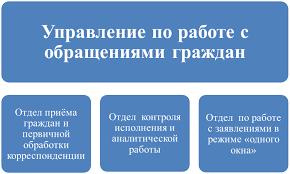 Курсовая работа Организация работы с обращениями граждан в  Реферат на тему обращения граждан Реферат на тему обращения граждан