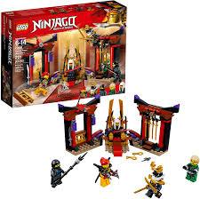 Amazon.com: LEGO NINJAGO Masters of Spinjitzu: Throne Room Showdown 70651  Building Kit (221 Pieces): Toys & Games