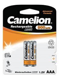 Аккумуляторы NH-AAA900BP2, <b>ААА</b>, 2шт. <b>Camelion</b> 8524095 в ...