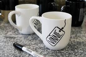 DIY Painted Mugs 5
