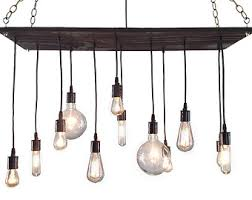 etsy industrial lighting. urban chandelier rustic industrial modern lighting light fixture reclaimed etsy i