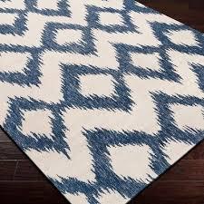 jayceon bluecream ikat ikat area rug beautiful area rugs