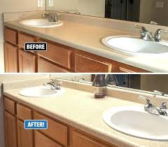 refinish bathroom sinks refinish bathroom sink refinishing works equally well on kitchen s bathroom vanities laminate refinish bathroom sinks