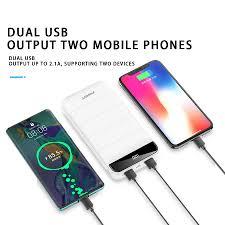 PISEN Power Bank 10000MAh LED Di Động Sạc Dự Phòng PowerBank 20000Mah Di  Động Sạc Nhanh USB Công Suất Ngân Hàng Cho iPhone Xiaomi huawei|Sạc dự phòng