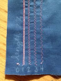 Sewing Machine Settings Zigzag Stitch
