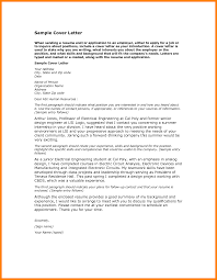 Examples Cover Letter For Resume 100 Job Cover Letter Sample Pdf Scienceresume 52