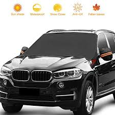Frost Guard Windshield Cover Size Chart Car Windshield Sunshade Waterproof Windshield Cover For Car Truck Suv With Side Mirror Covers Snow Rain Frost Uv Full Protection