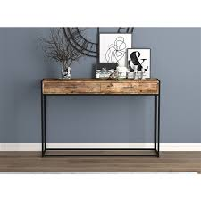 saf co console table 2 drawers