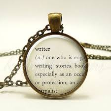 gifts for writers authors necklace