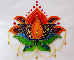 Diwali Glass Painting Designs Easy Glass Painting Framing Creative Art