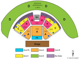 Gorge Amphitheater Seating Chart Gorge Amphitheatre Tickets In Quincy Washington Gorge