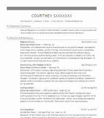 Registered Nurse Resume Templates Gorgeous Australian Registered Nurse Resume Sample For Curriculum V