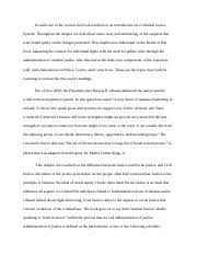 cj unit quiz question in minnesota vs dickerson the u s  3 pages chapter 1 essay dequanspviey cj101