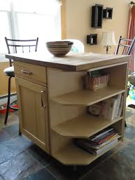 Homemade Kitchen Island Kitchen Island With Storage Shelves Island On Storage Kitchen