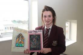 my name is dearbhail mccullough and i am in cl 9 03 i have been nominated for art p of the month by my form teacher mr mc ardle