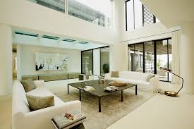 interior design high ceiling living room back to post stunning luxury villa