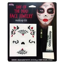 image is loading day of the dead make up face sticker