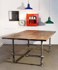 pipe leg table and other modern industrial techie looking office maybe we  should pack some piping | work shop | Pinterest | Modern industrial, ...