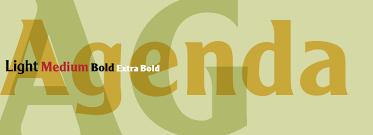 Agenda Font Family - Fonts.com