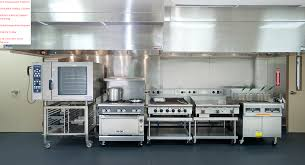 Cleaning Range Hood Contemporary Restaurant Kitchen Hood Vents System Supply Fan