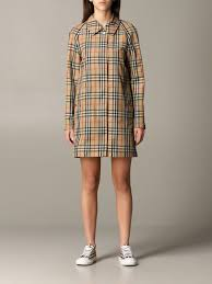 Burberry Keisley check canvas trench ...