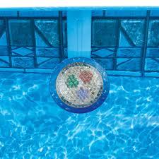 Ground Pool 100 Watt Multi Colored Light In the Swim